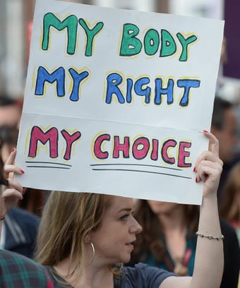 Ireland Abortions Legal UK