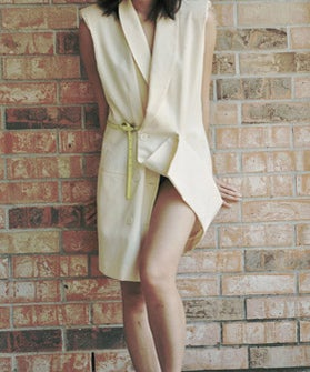 DIY Blazer Dress