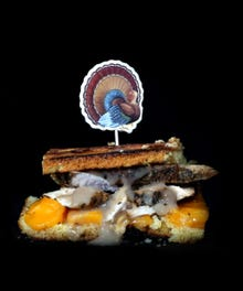 Turkey Grilled Cheese Opner