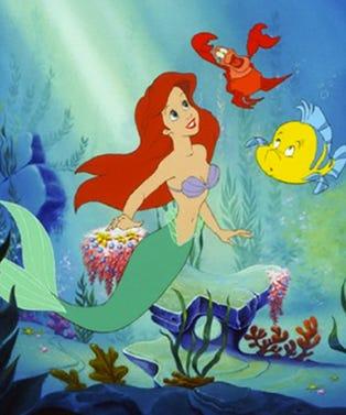little mermaid embed