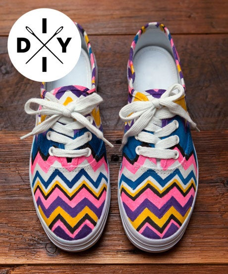 DIYMissoniShoes