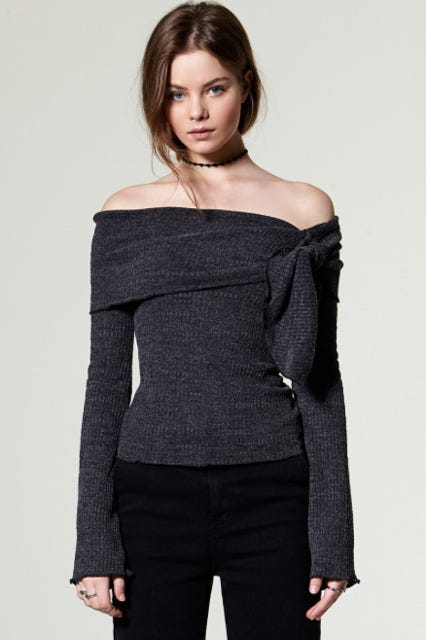 Best Off The Shoulder Tops, Sweaters For Fall