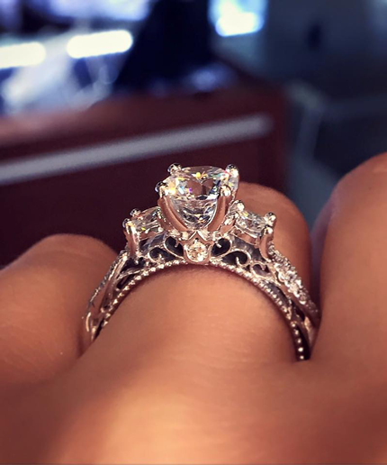 the most pinned diamond sparkler on pinterest - Popular Wedding Rings
