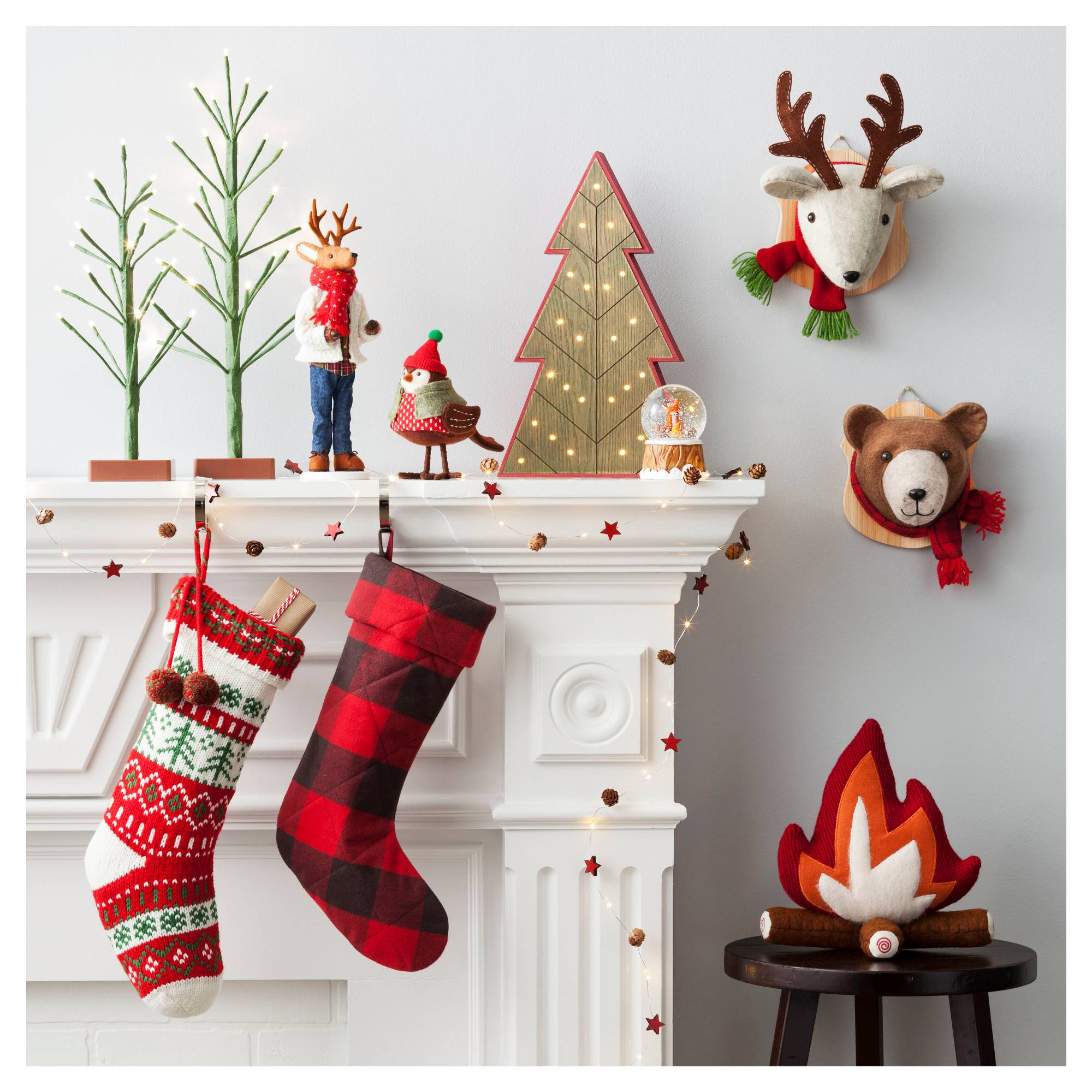 Target Christmas Decorations Holiday Home Decor - Camp Christmas Tree