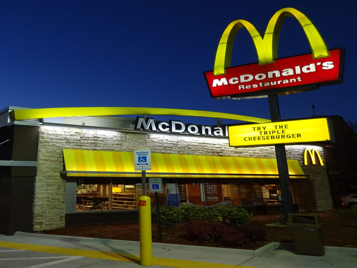 McDonald's Just Expanded Delivery To A Few More Cities