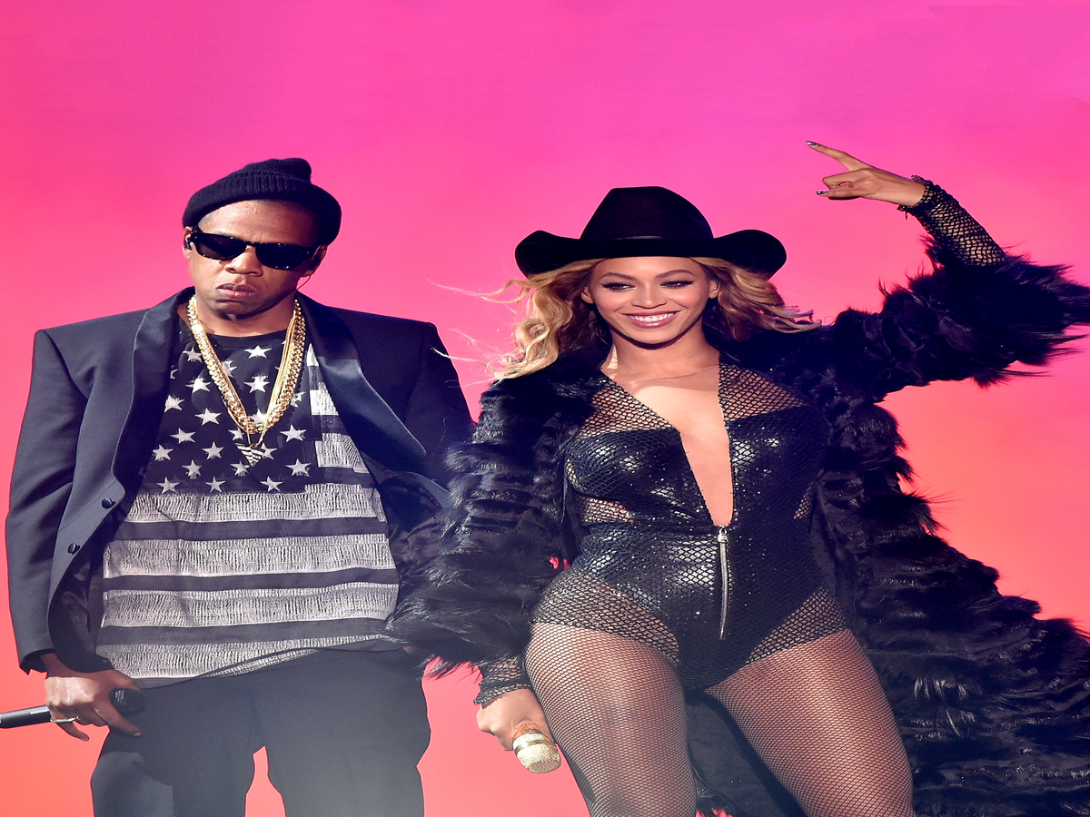 A Timeline Of Beyoncé & Jay Z's Relationship, In GIFs