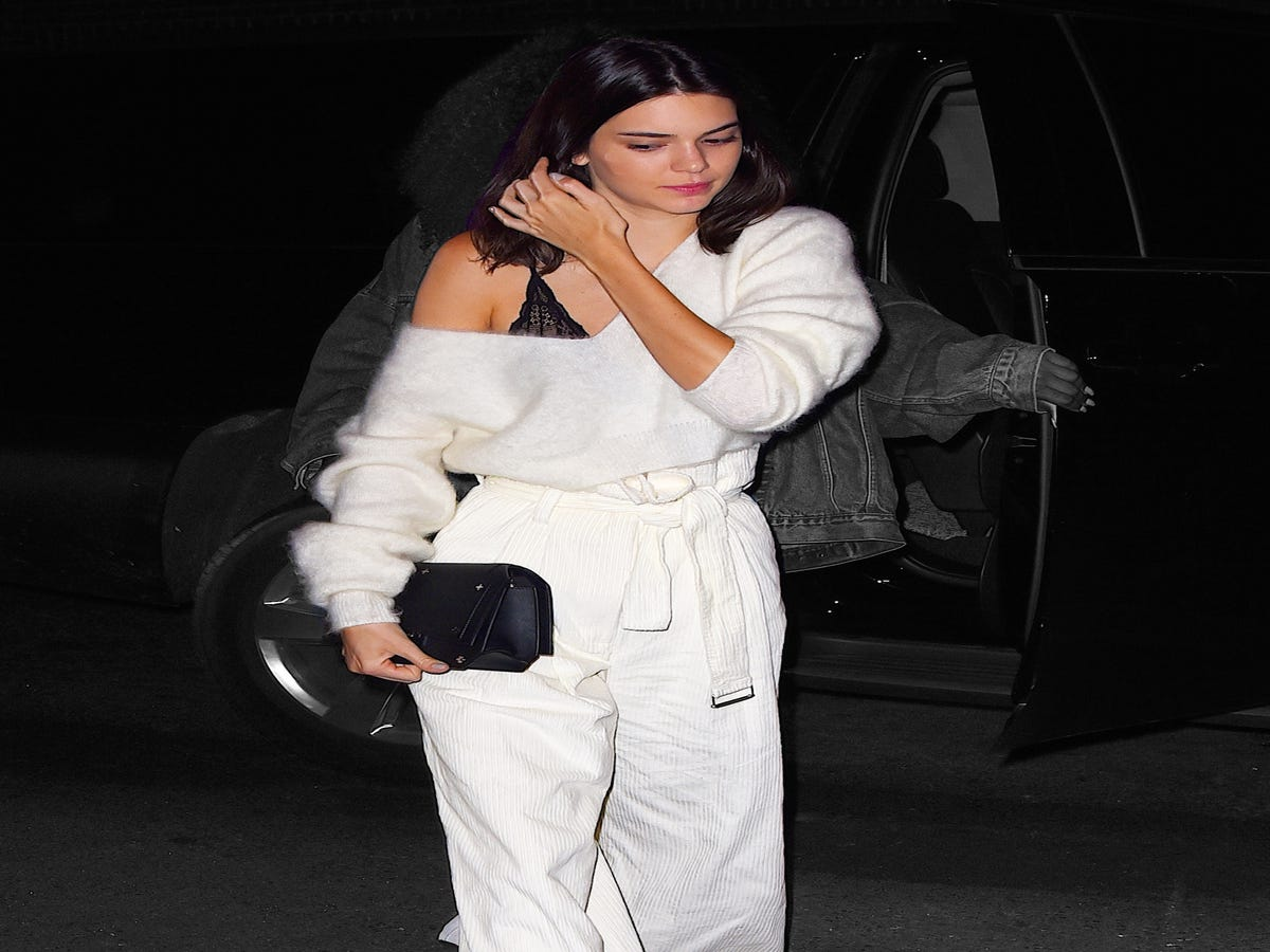 Kendall Jenner Looks Really, Really Comfortable