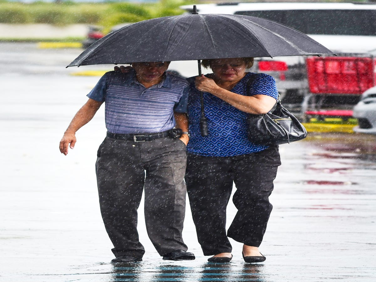 Hurricane Irma Lashes At Puerto Rico, Leaves Tiny Barbuda Devastated