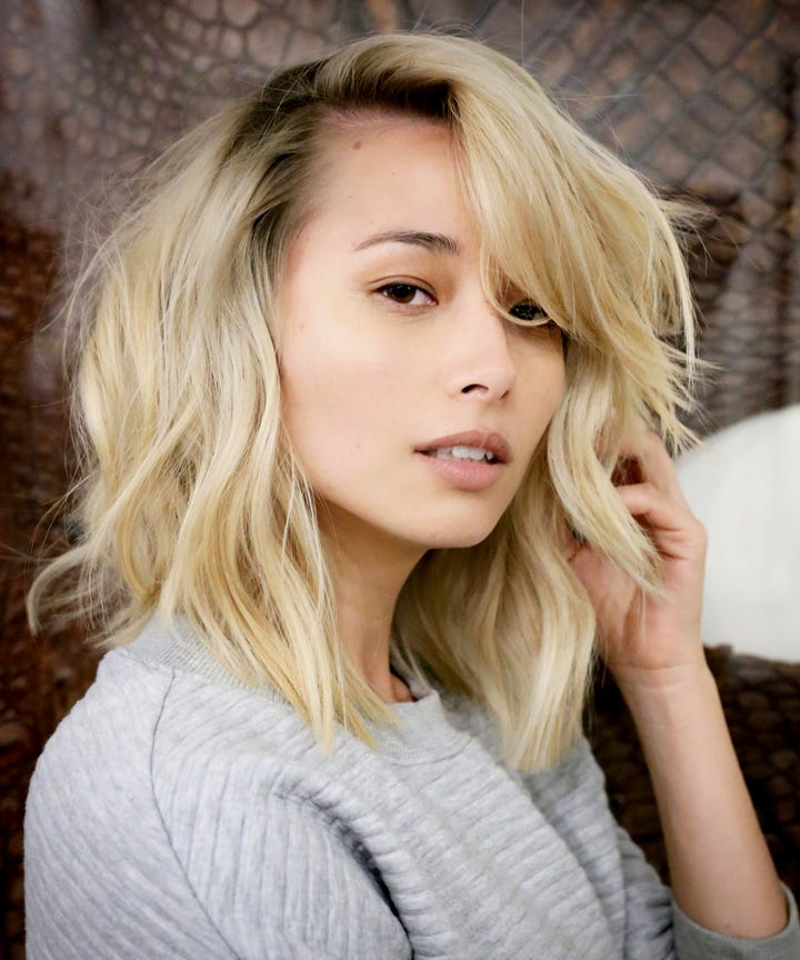 La hair trends new spring haircuts celebrity stylists what to ask for a collarbone length base with choppy layers suited for your texture urmus Choice Image