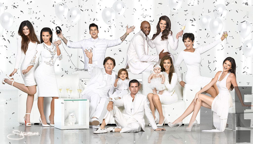 Kardashian Christmas Card Through The Years Photos 2016
