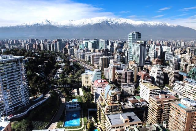 Inilah kota yang paling mirip kota-kota di Eropa. Kota teraman di Amerika Latin dengan trotoar yang lebar dan indah | Getty Images