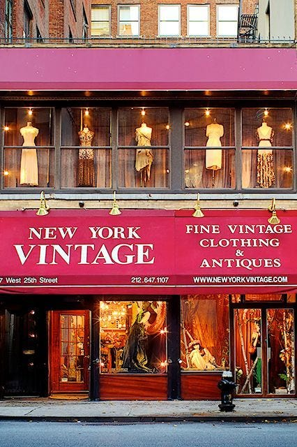 Best Vintage Shopping NYC Guide
