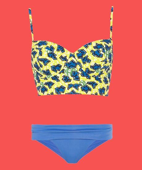 10 Ways To Mix & Match Your Swimsuits
