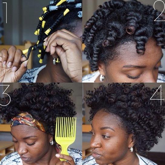 Astounding Easy Natural Hairstyles For Transitioning Hair Short Hairstyles Gunalazisus