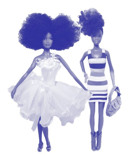 Dolls With Naturally Textured Hair — Finally!