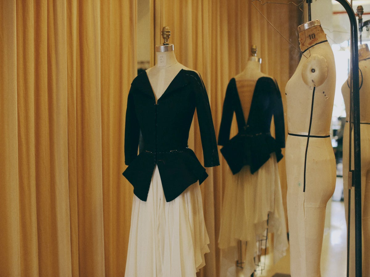 New York City Ballet Puts High-Fashion Costumes In Motion