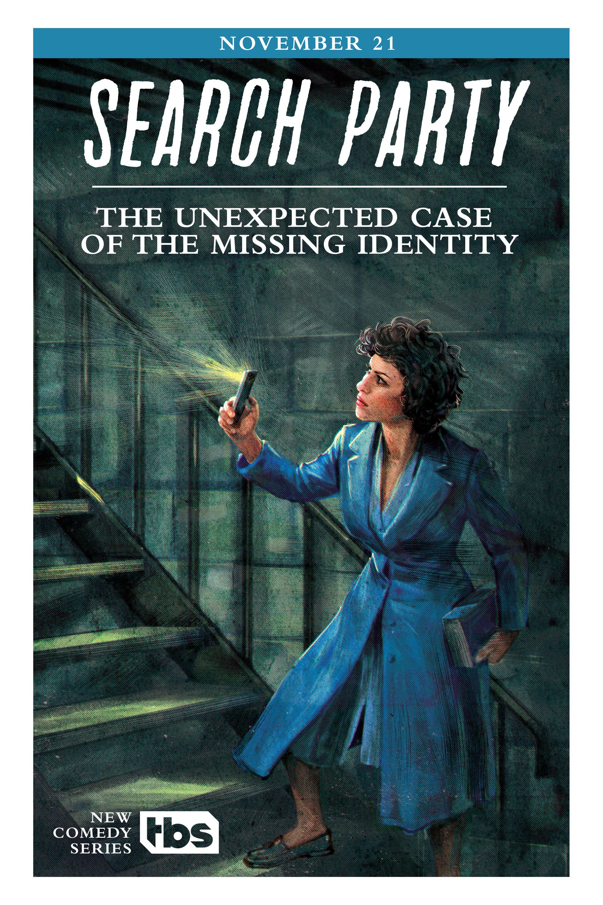 Nancy Drew Inspired Posters For Search Party – Missing Person Posters