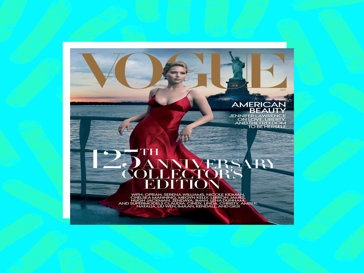 People Think Vogue's September Cover Is An Attack On Trump