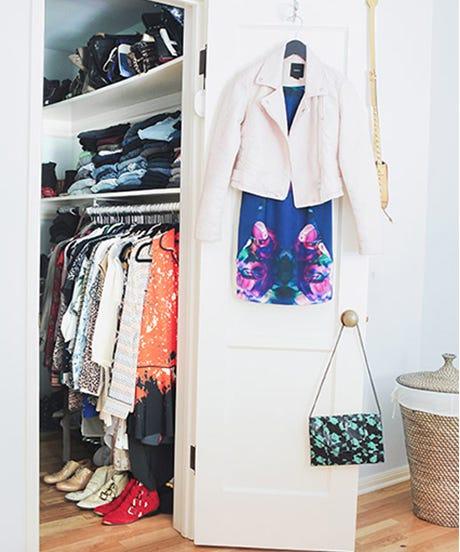 closet open