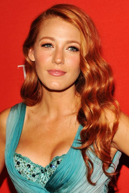 Blake lively hairstyles makeup hair color pmusecretfo Gallery