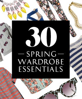 Collect All 30 Spring Wardrobe Essentials