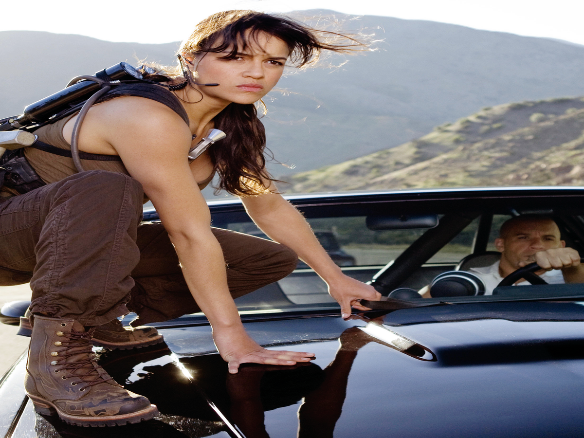 Michelle Rodriguez Thanks Vin Diesel For Supporting  Strong Women  On The Fast & The Furious Set