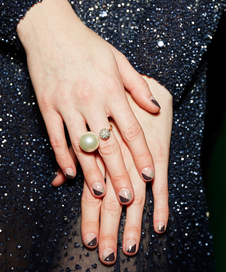 Nail polish trends fall 2017 fashion week nail art there was no shortage of creativity backstage at the nyfw fall 2017 shows this month cool girl bangs and curls of all types came out of the hair department prinsesfo Choice Image