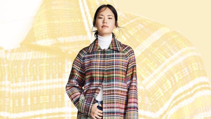 Move Over Parkas, We're Falling Hard For Plaid Coats This Winter
