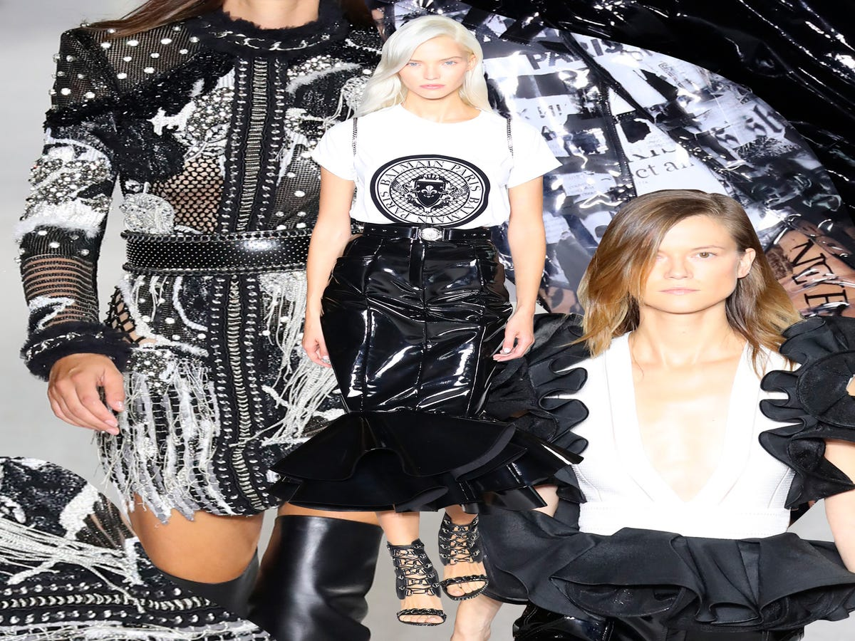 Olivier Rousteing s Latest Balmain Show Is A Letter To His 10-Year-Old Self