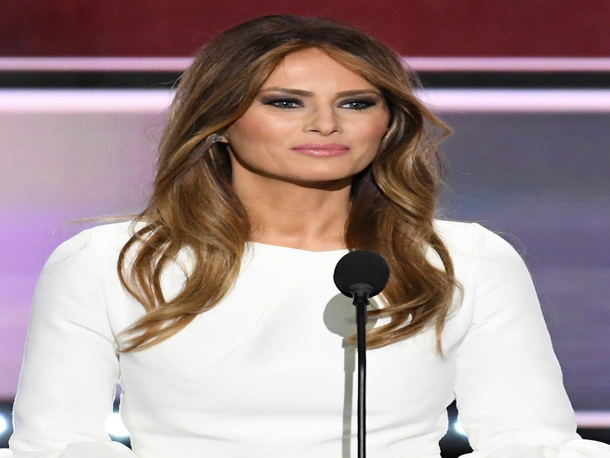 Melania Trump Addresses Husband s  Offensive  Comments Towards Women