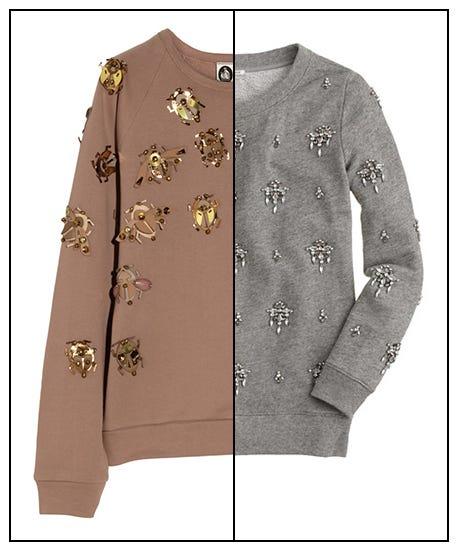 12 Comfy-Chic Jeweled Sweatshirts