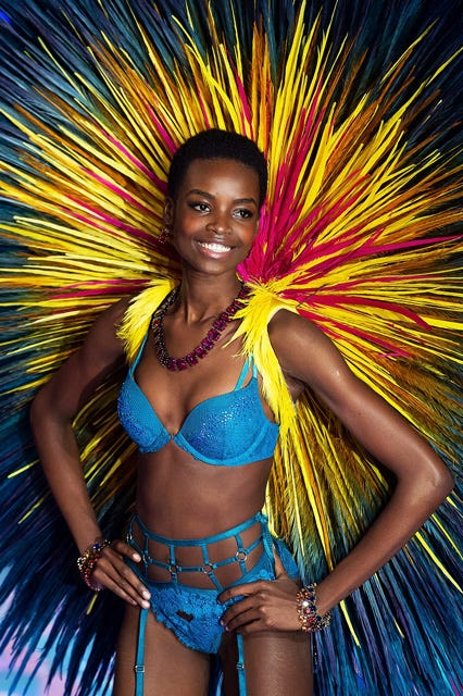 Why This Model's Natural Hair At The VS Fashion Show Is So Important