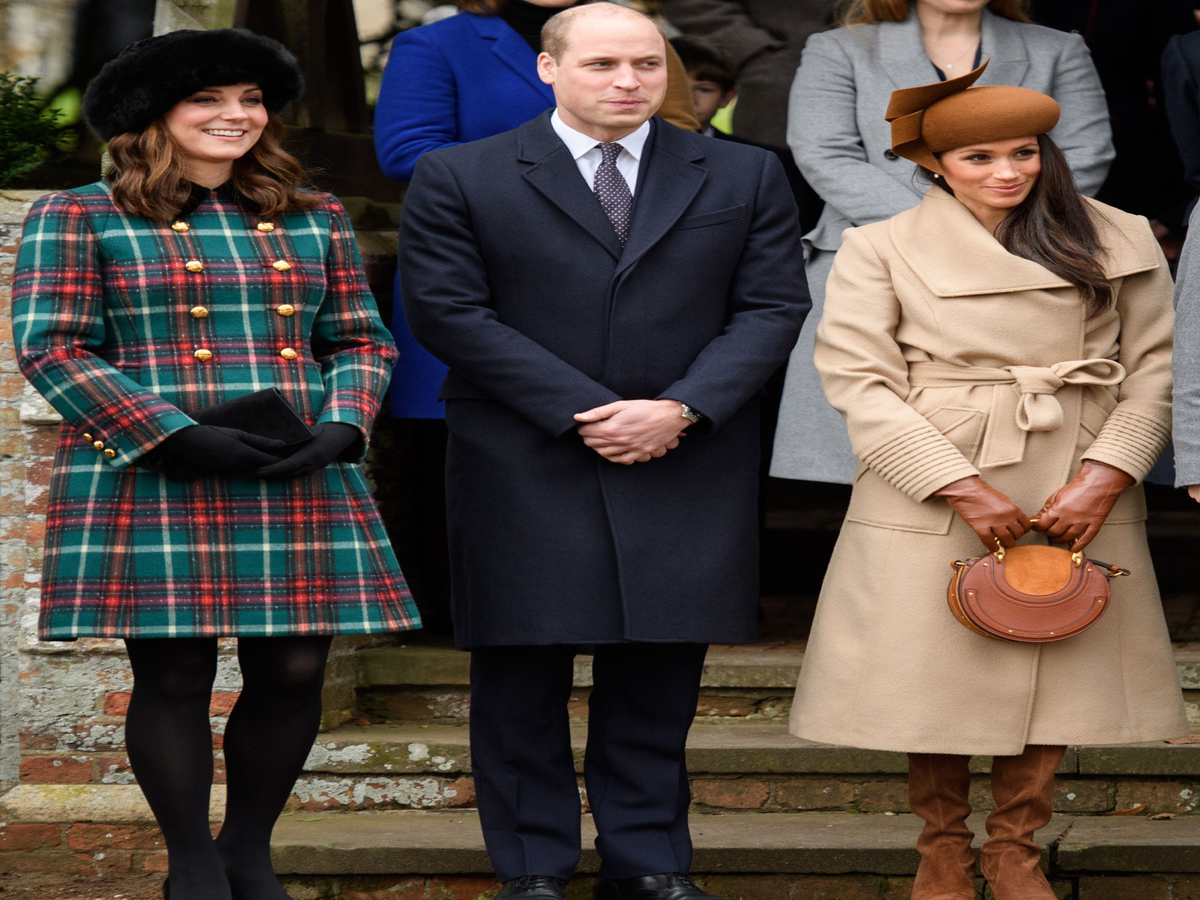 Kate Middleton & Meghan Markle Made Their First Public Appearance Together