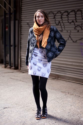 Nyc Street Fashion Intern Style From Refinery29 Describe Your College S In Three Words
