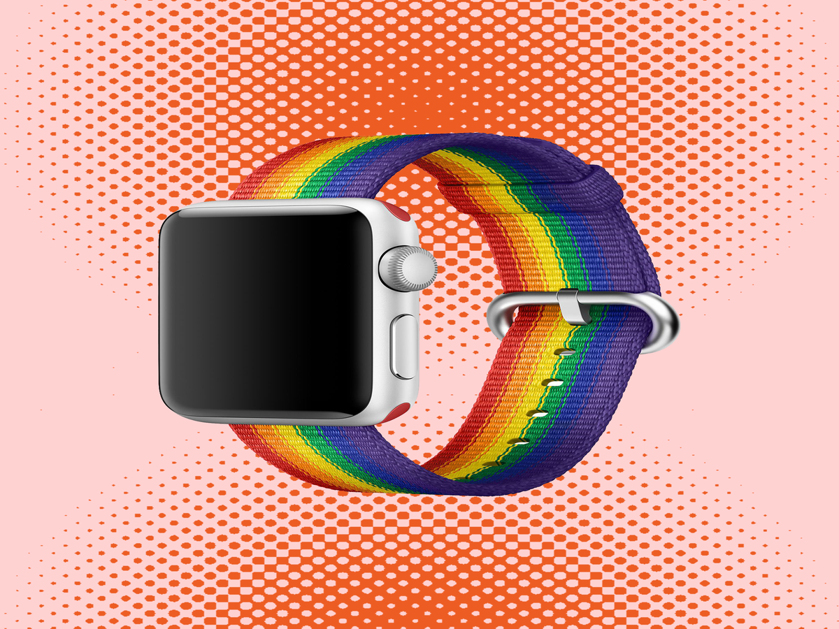 Apple Has Finally Brought Its Exclusive Pride Watch Bands To The Masses
