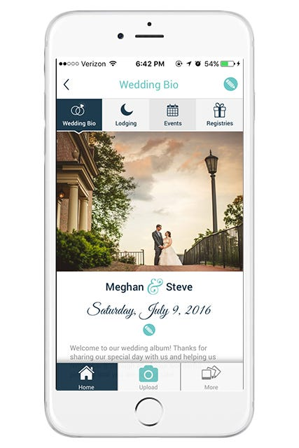 Wedding apps best planner apps for brides grooms if you want a wedding app to keep all of your photos in one place but dont need to create a wedding website wedpics is a good option junglespirit Choice Image