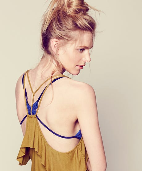 Free People Says It's Time To Show Off Your Bras Under Your Shirts (Again)