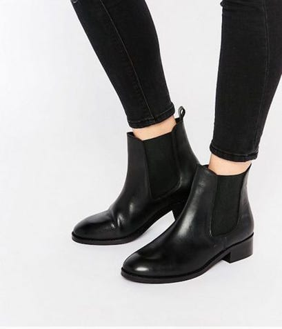 ASOS Leather Chelsea Black Ankle Boots Review