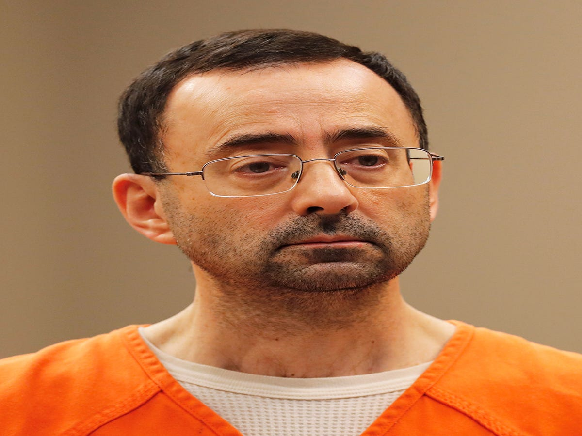 USA Gymnastics Doctor Sentenced To 60 Years In Prison