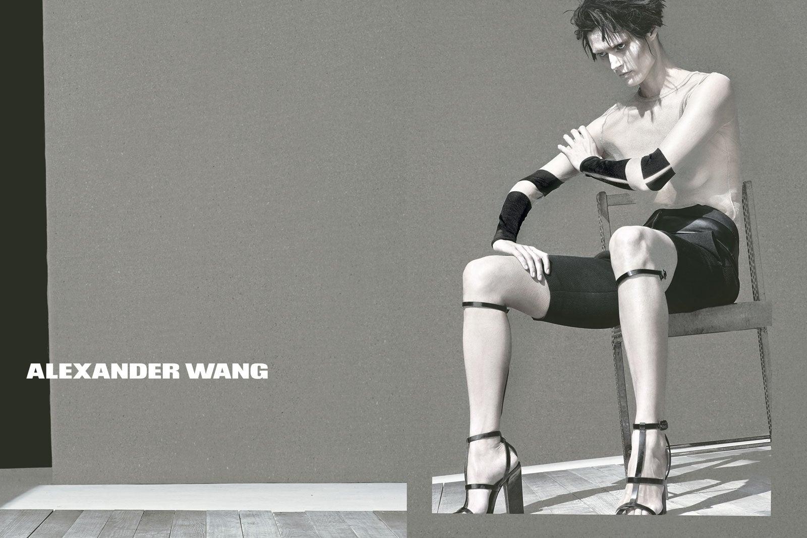 alexander wang spring campaign photo courtesy of alexander wang