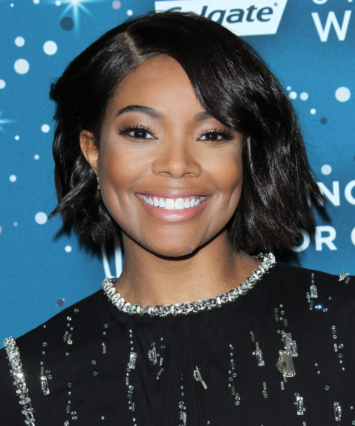 Gabrielle Union New Hair Bob Cut Larry Sims - New cool hairstyle pic