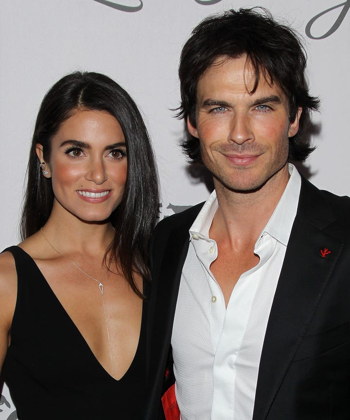 Ian somerhalder nikki reed wedding anniversary ian somerhalder nikki reed toast 2 years of wedded bliss junglespirit Images