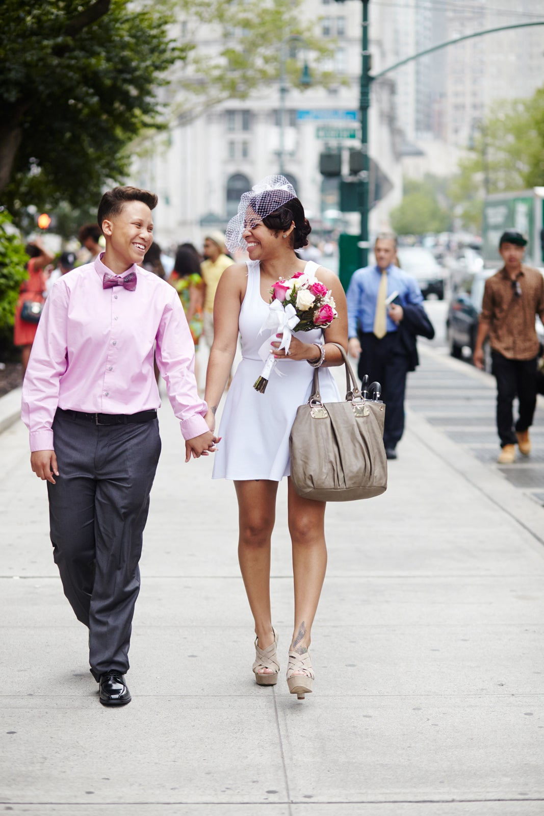 City Hall Wedding Outfits Casual Bridal Gowns
