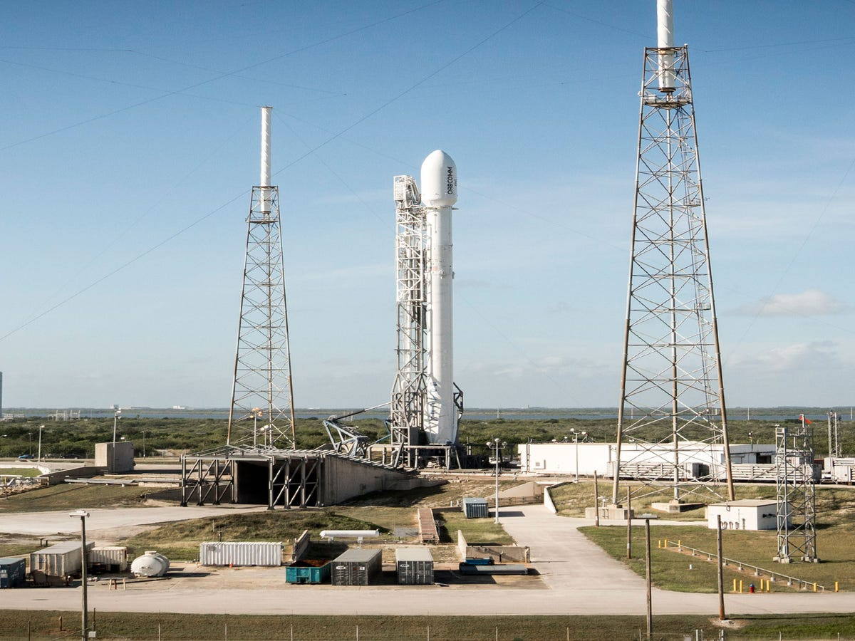A SpaceX Rocket Exploded This Morning At Cape Canaveral