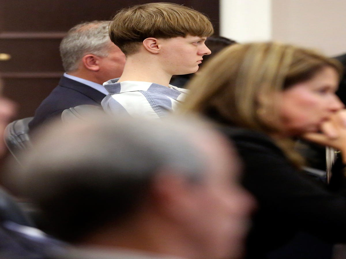 State Judge Gives Dylann Roof Nine Life Sentences In Charleston Church Shooting