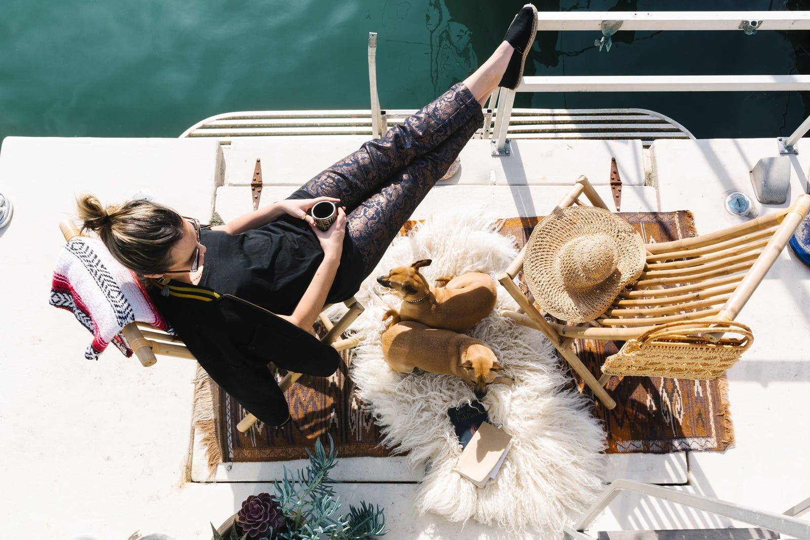 Življenje na barki