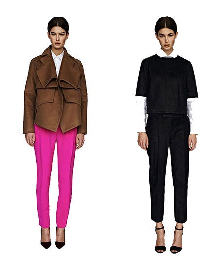 Flawless Fall Suiting? Call On Nellie Partow