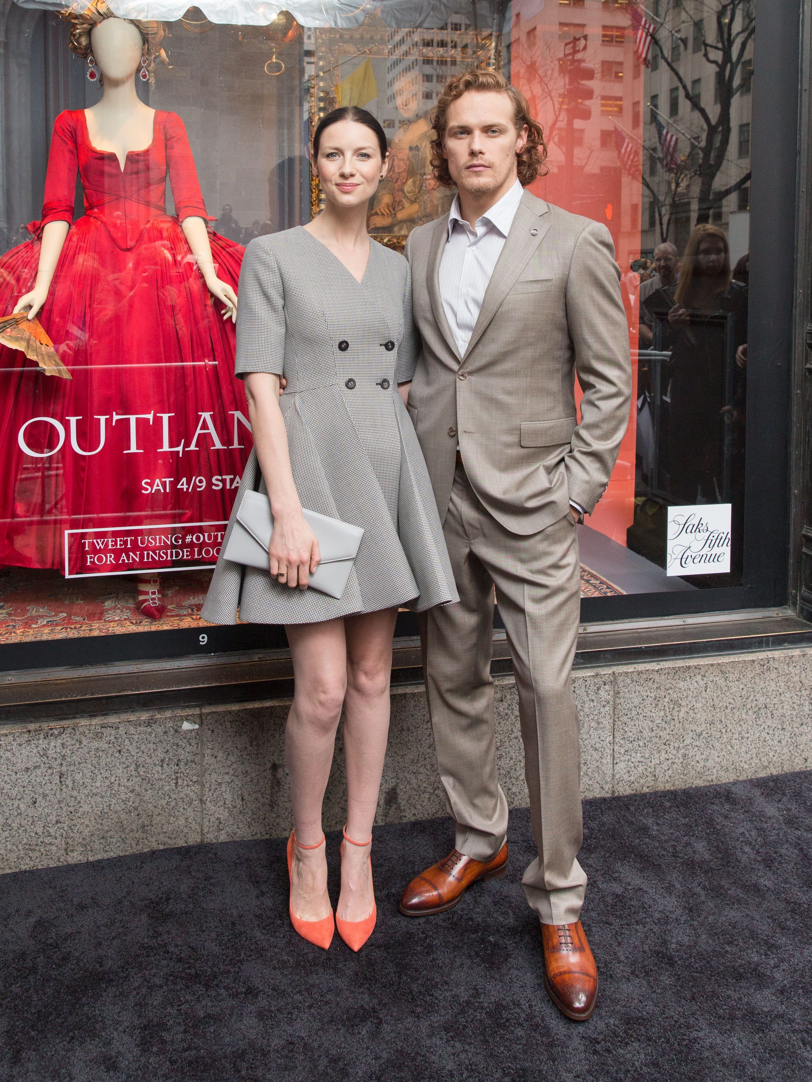 Are Outlander Stars Hookup In Truthful Life