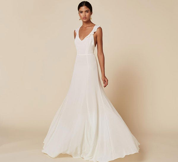 Reformation wedding dress affordable wedding dresses this collection will make you consider buying a second wedding dress junglespirit Images