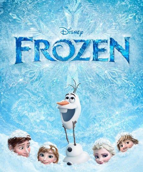 frozen open
